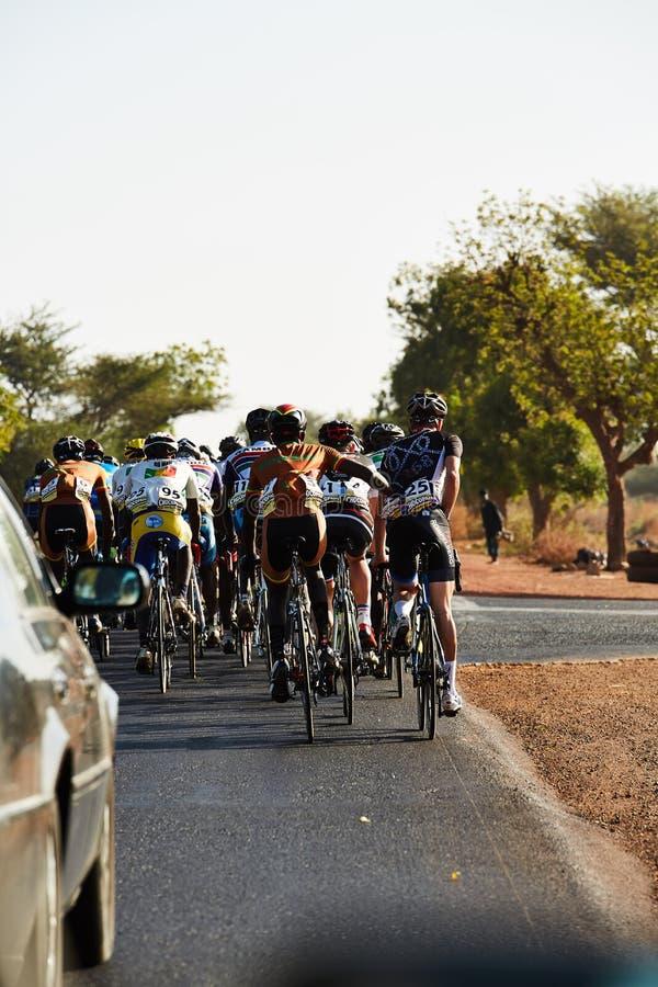 Bereisen Sie DU Senegal 2017 von Dakar zum Stadiums-Sieger-Islam Mansouri Dakars 8 lizenzfreie stockfotografie
