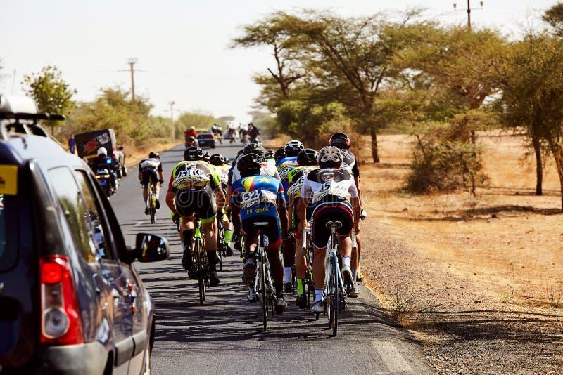 Bereisen Sie DU Senegal 2017 von Dakar zum Stadiums-Sieger-Islam Mansouri Dakars 8 lizenzfreies stockfoto