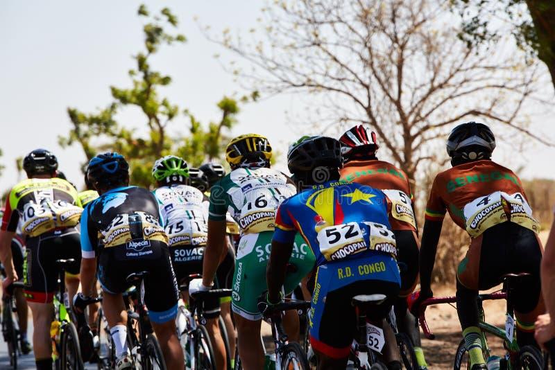 Bereisen Sie DU Senegal 2017 von Dakar zum Stadiums-Sieger-Islam Mansouri Dakars 8 lizenzfreies stockbild