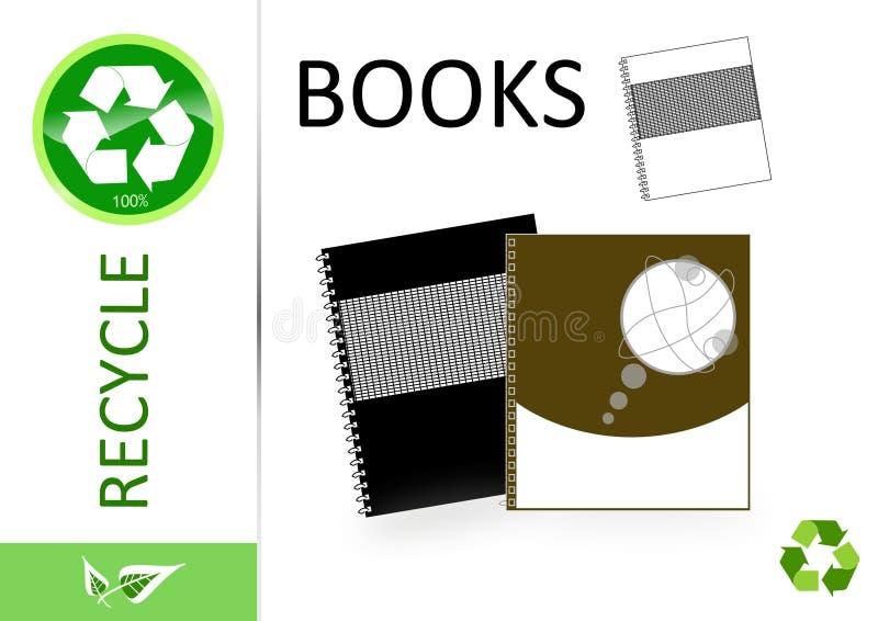 Bereiten Sie bitte Bücher auf vektor abbildung