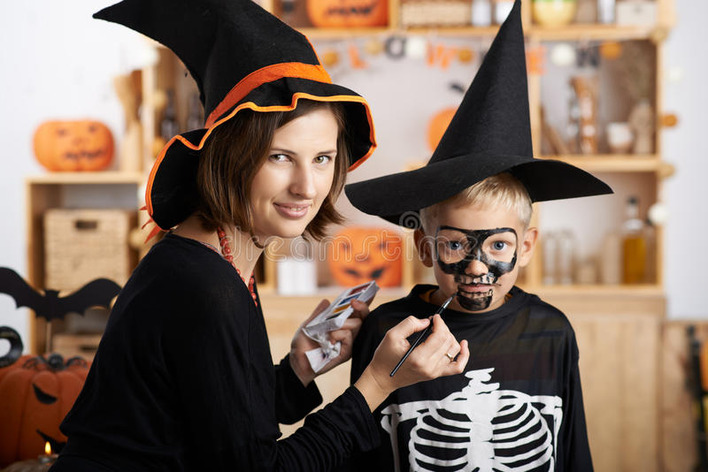 Bereiten Sie für Halloween vor lizenzfreie stockbilder