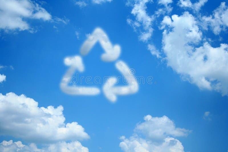 Bereiten Sie Wolke auf stockbild