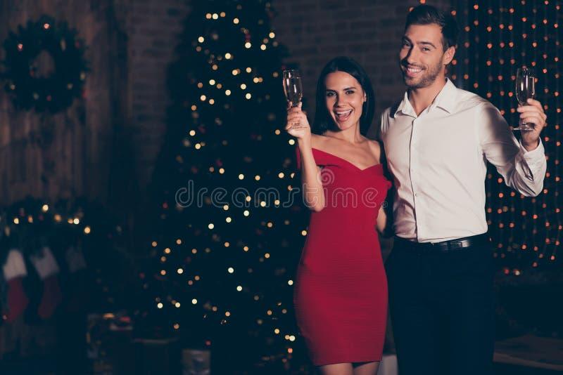 Bereiten Sie zum Mitternachtscountdown vor Bestes Winter noel christmastime Teil lizenzfreie stockfotografie