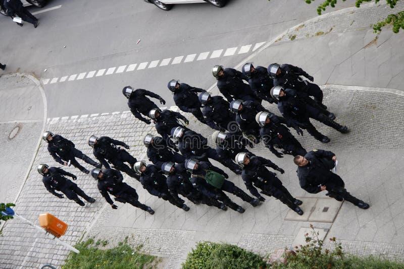 Bereitschaftspolizei lizenzfreies stockfoto