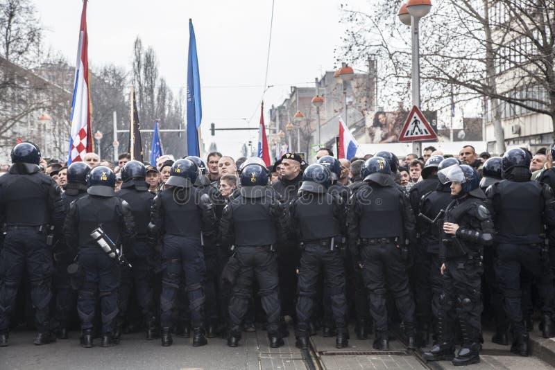 Bereitschaftspolizei lizenzfreie stockfotografie