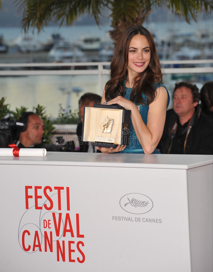 Berenice Bejo στοκ εικόνες