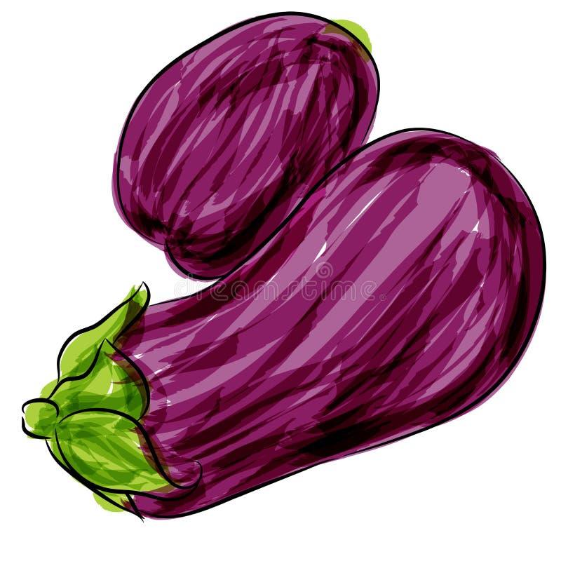 Berenjena púrpura libre illustration