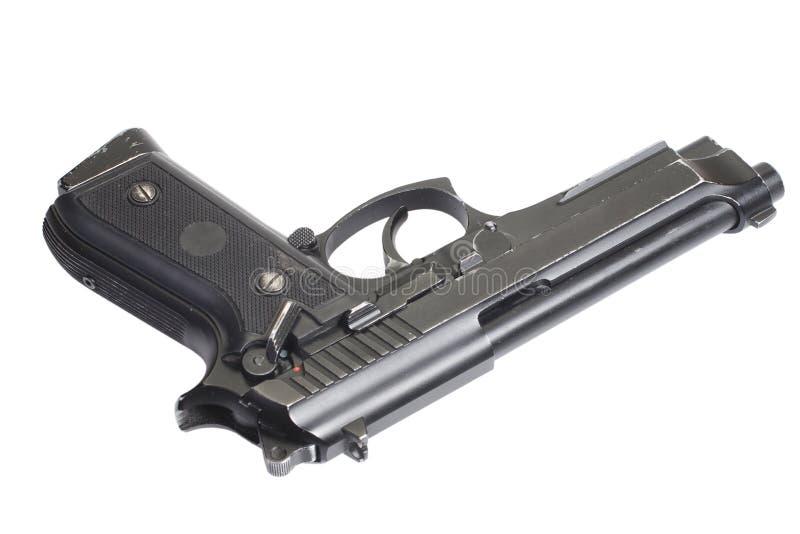 Beretta M9 vapen arkivfoto