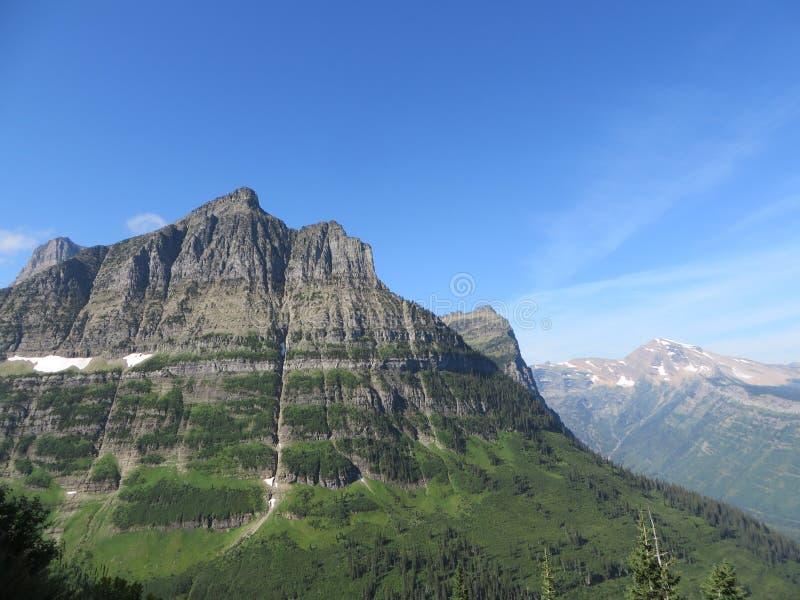 Berg übersehen stockbilder