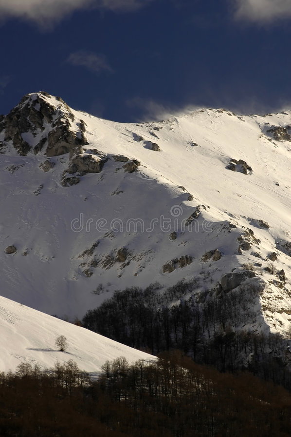 Berg 03 arkivfoton