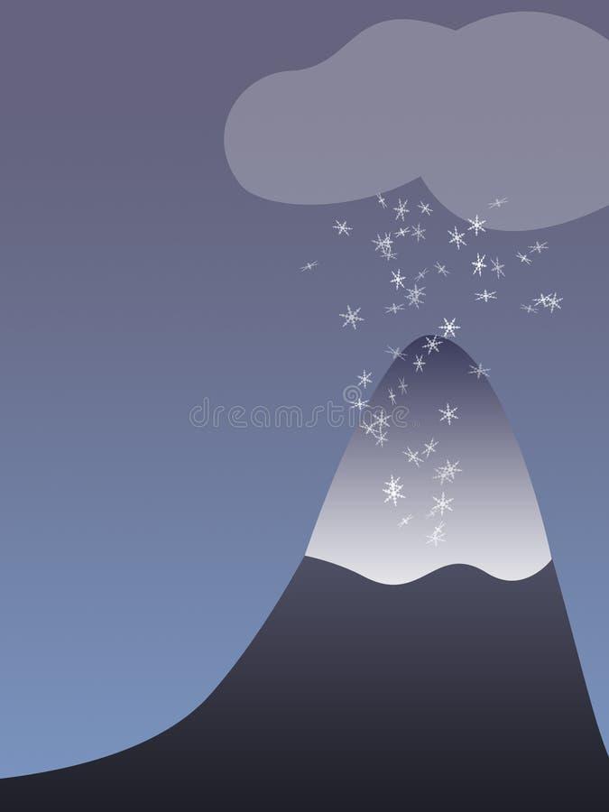 Berg lizenzfreie abbildung