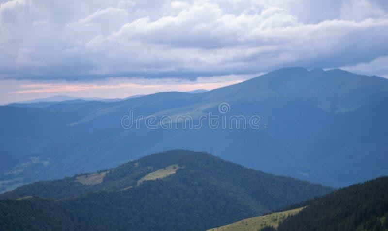 Berg stock afbeelding