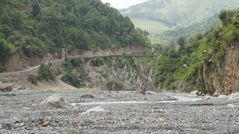 Berg Abbottabad stock foto