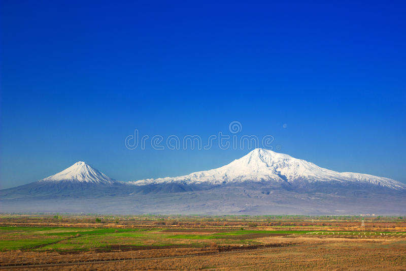 Berg Ararat arkivbild