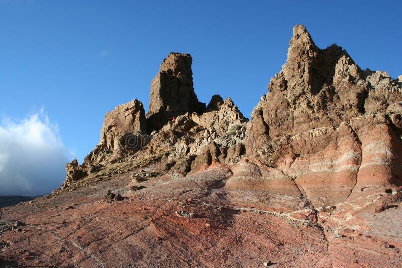 Berg auf Tenerife stockbilder