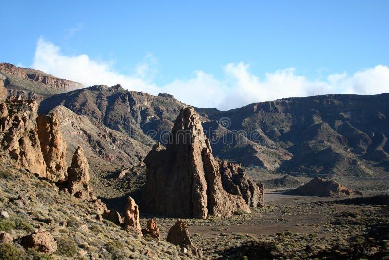 Berg auf Tenerife lizenzfreie stockfotos