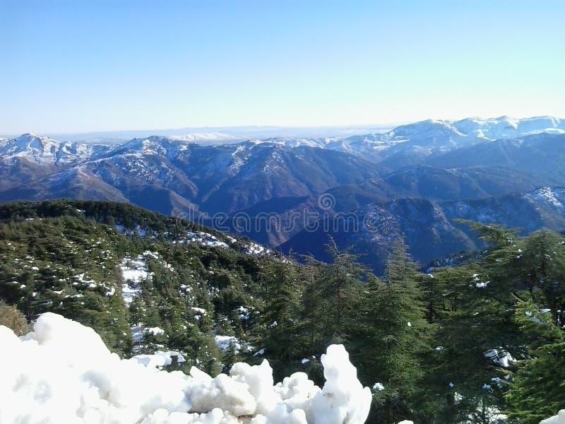 Berg av Algeriet royaltyfria foton