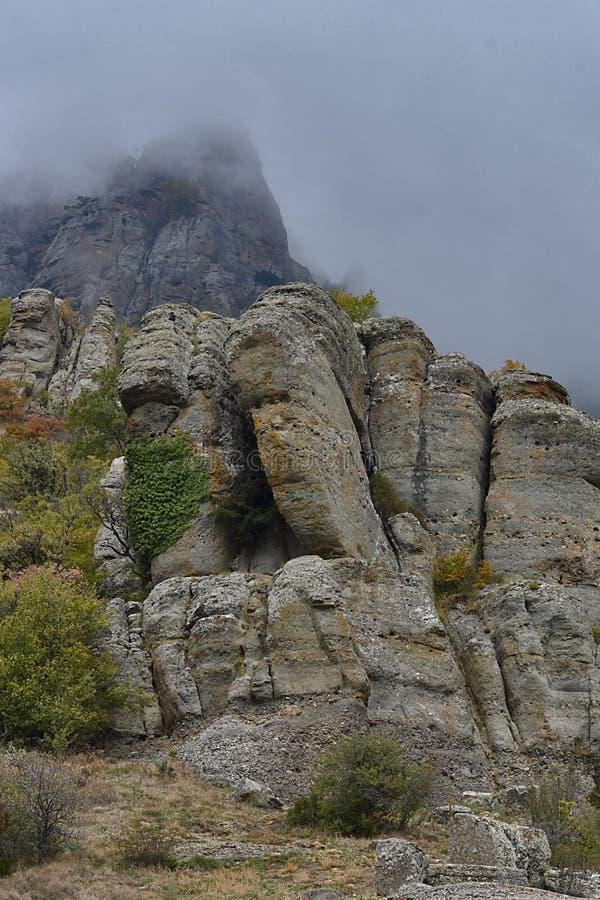 Berg av Crimea arkivfoton
