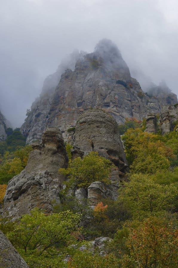 Berg av Crimea royaltyfri bild