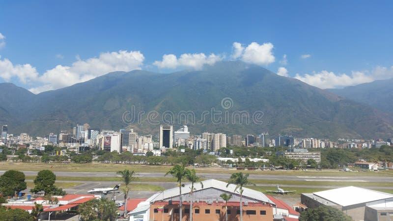 Berg Avila Caracas arkivbild
