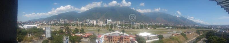 Berg Avila Caracas royaltyfria foton