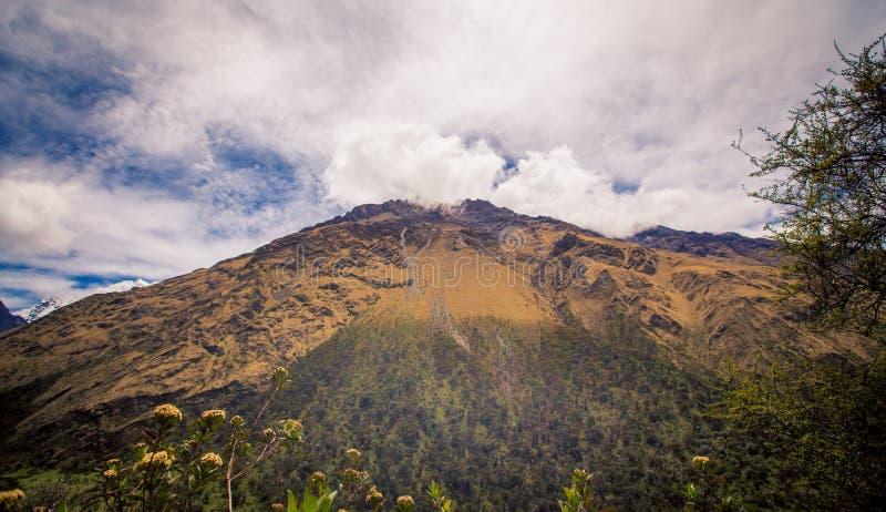 Berg bei cusco Peru stockfoto