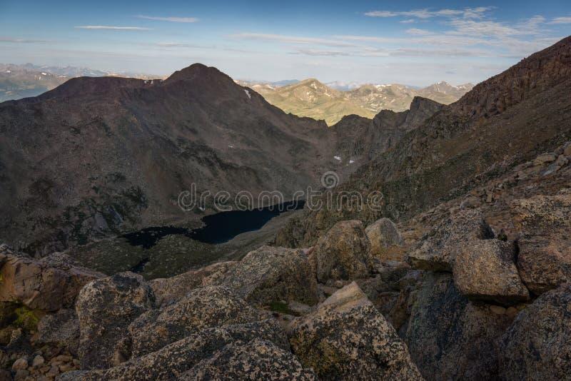 Berg Bierstadt - Colorado lizenzfreie stockfotos