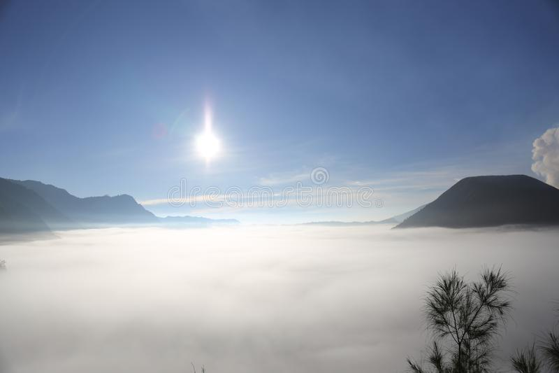 Berg Bromo lizenzfreies stockfoto