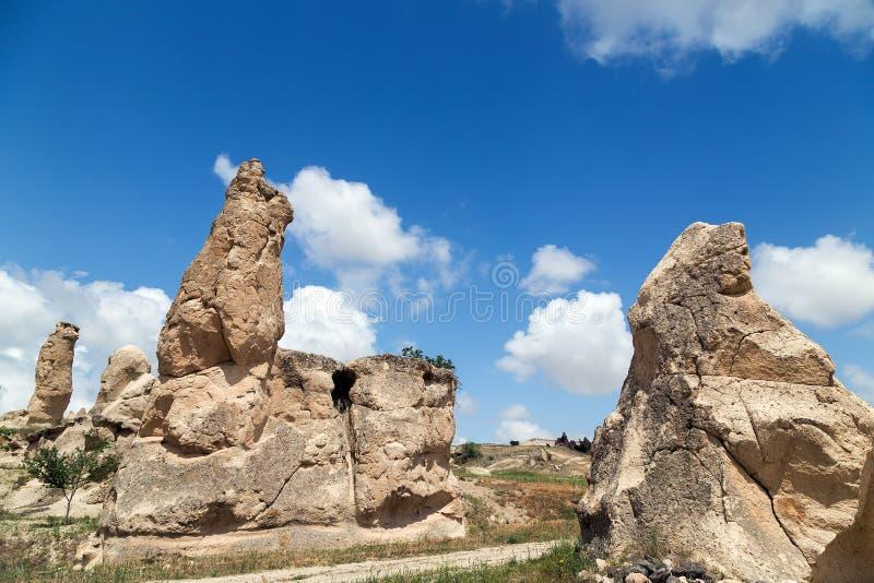 Berg Cappadocia lizenzfreie stockfotografie
