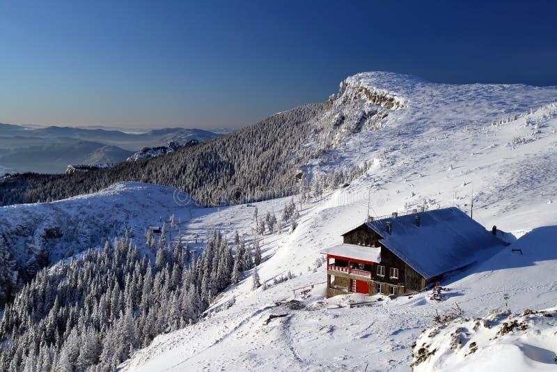 Berg Ceahlau stock afbeeldingen