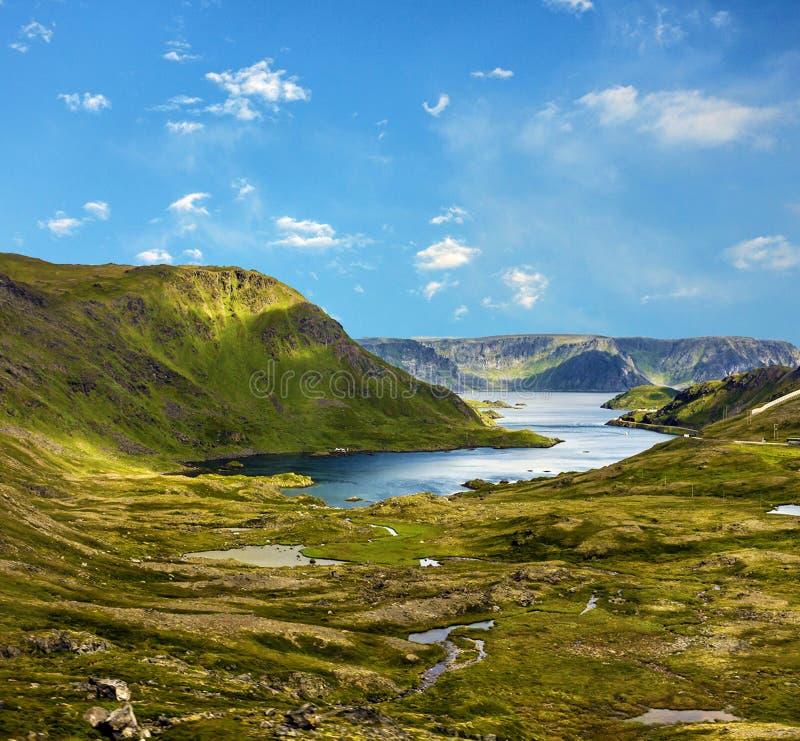 Berg-Dalsnibba See und Schnee landschaft stockbild
