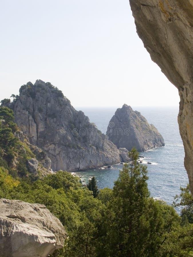 Berg de Kat in de Krim stock foto