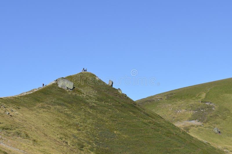 Berg in den Alpen lizenzfreies stockfoto