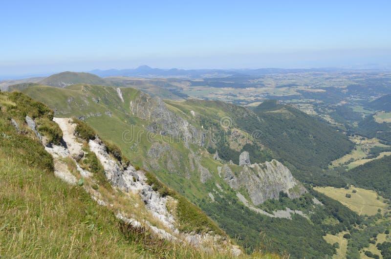 Berg in den Alpen stockbilder