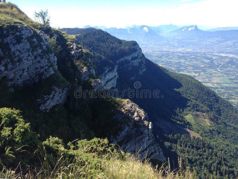 Berg in den Alpen stockfoto