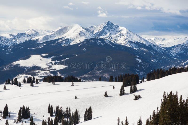 Berg des heiligen Kreuzes stockbild