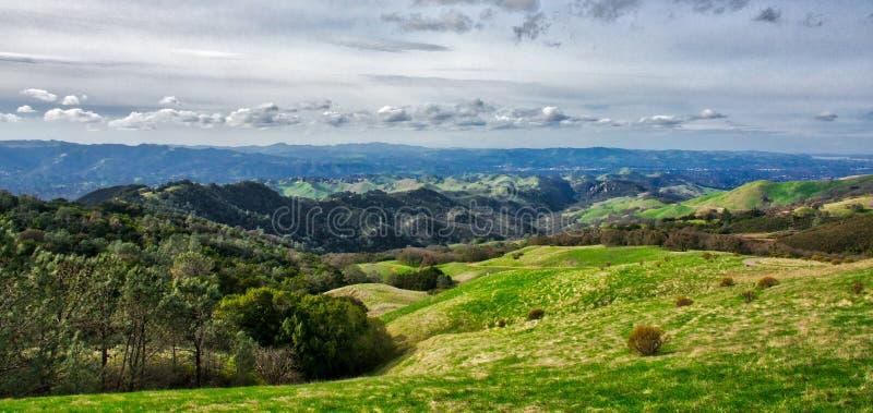 Berg-Diablo-Ansicht des Tales stockbilder