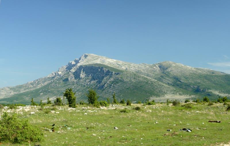 Berg Dinara - Kroatien lizenzfreie stockbilder