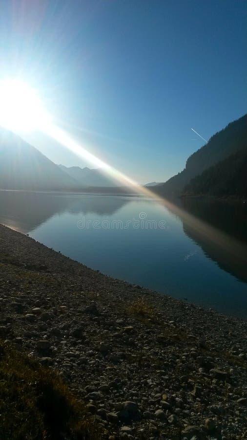 Berg in Duitsland royalty-vrije stock fotografie