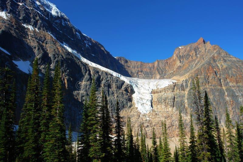Berg en gletsjer stock afbeeldingen