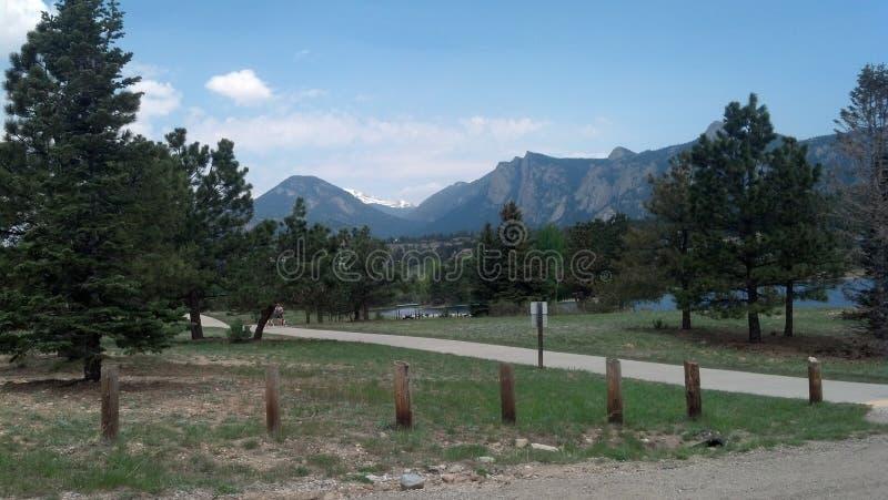 Berg in Estes Park, Co royalty-vrije stock foto