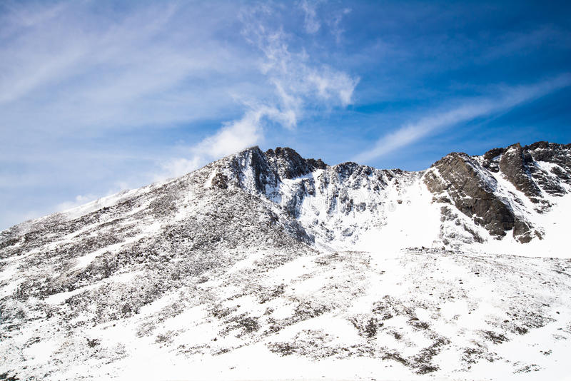 Berg Evans Summit - Colorado stockfotografie
