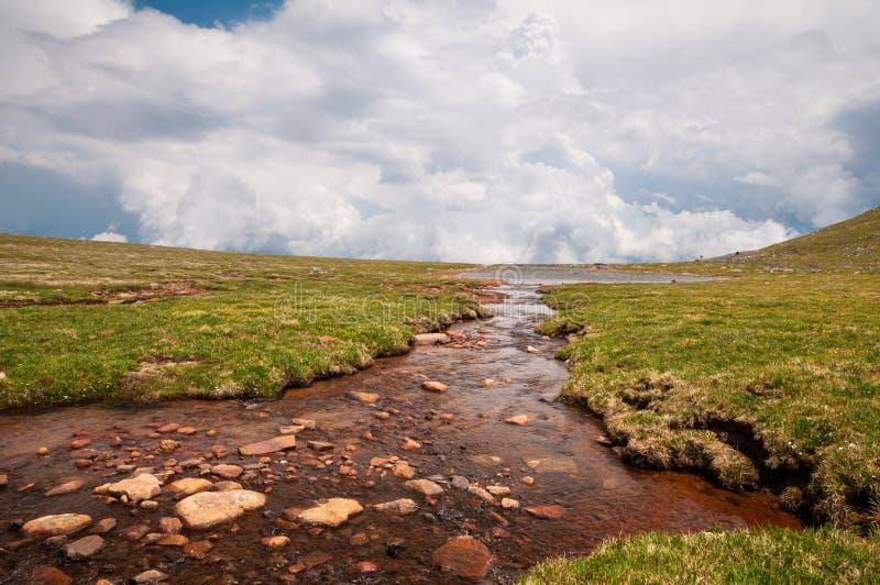 Berg Evans Tundra lizenzfreies stockbild