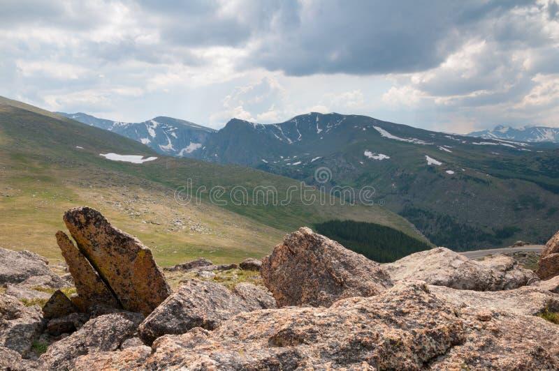Berg Evans Wilderness lizenzfreie stockbilder