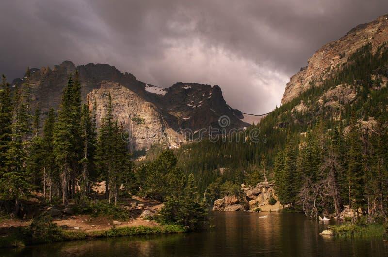 Berg för Colorado fjorddal royaltyfria foton