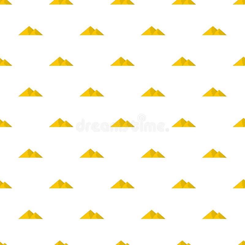 Berg för den sömlösa extremal modellen vektor illustrationer