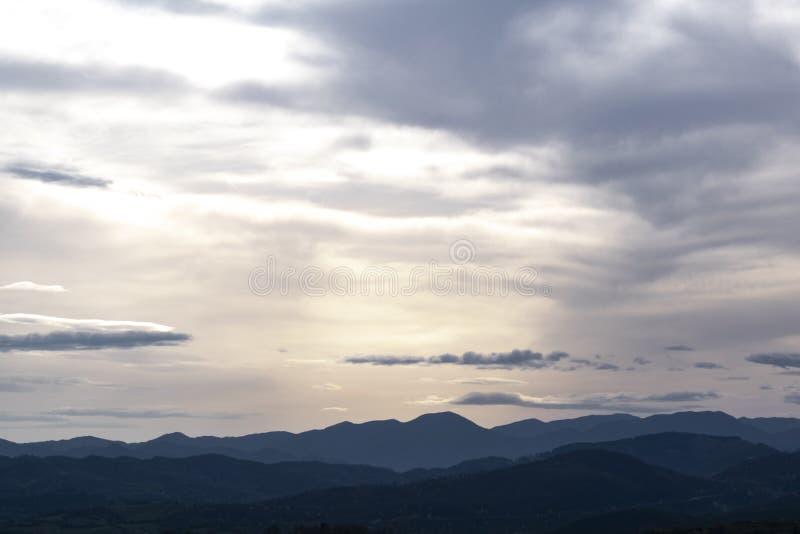 Berg för Lafuta` s arkivfoto