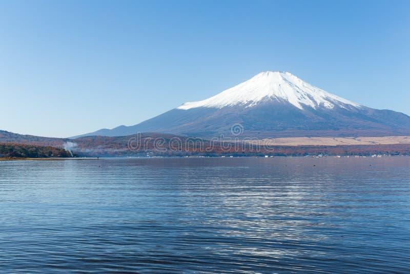 Berg Fuji en meer royalty-vrije stock foto's
