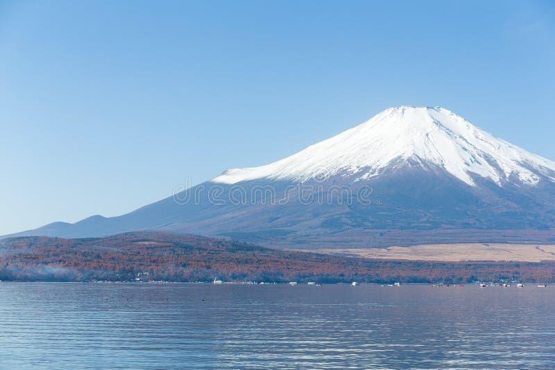 Berg Fuji en Meer Yamanaka royalty-vrije stock fotografie