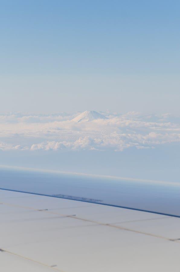 Berg Fuji från nivån royaltyfria foton